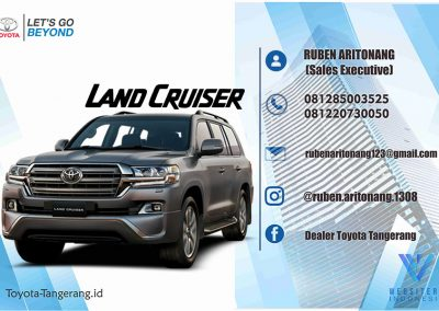 New Land Cruiser